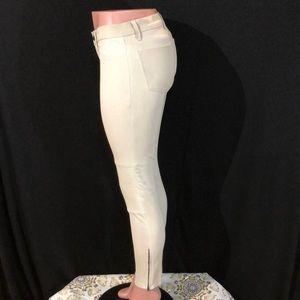 J Brand Jeans - J BRAND Lamb Leather Moto Zip Skinny Jeans Pants
